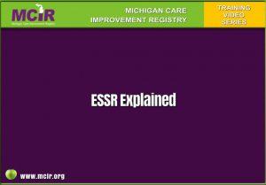 essr explained